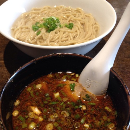 Spicy Tsukemen from Kiwami.