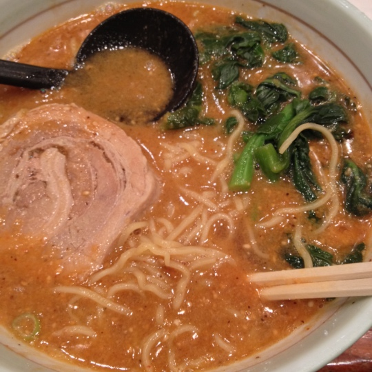 Tan Tan Ramen from Goma Tei.
