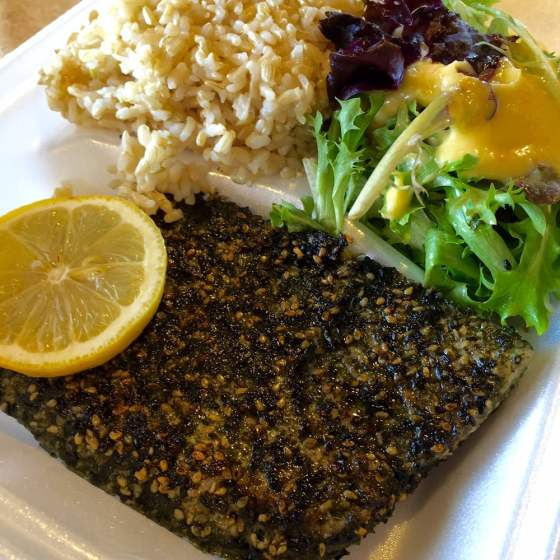 Nico's Furikake Pan Seared Ahi