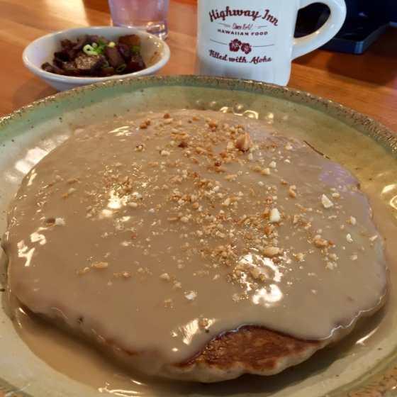 Highway Inn Poi Macnut Pancake